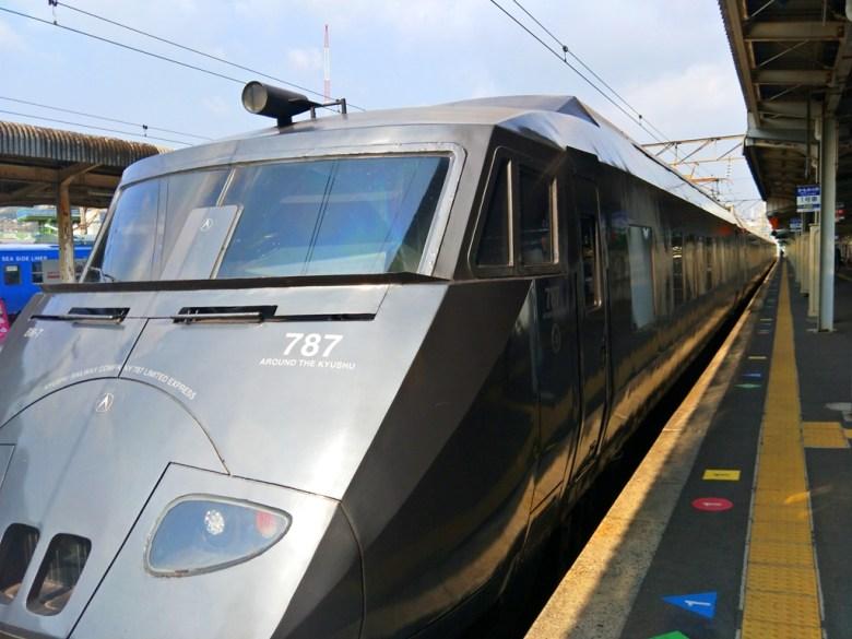 JR九州787系電車 | 特急列車 | 日輪號、日向號列車 | 九州地方 | Kyushu |日本 | Japan | 巡日旅行攝 | Roundtripjp
