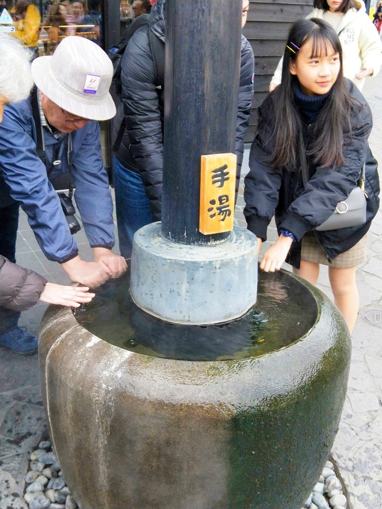 免費手湯 | 由布見通 | ゆふいん驛 | 由布院 | 大分 | Oita | 九州 | 日本 | 巡日旅行攝
