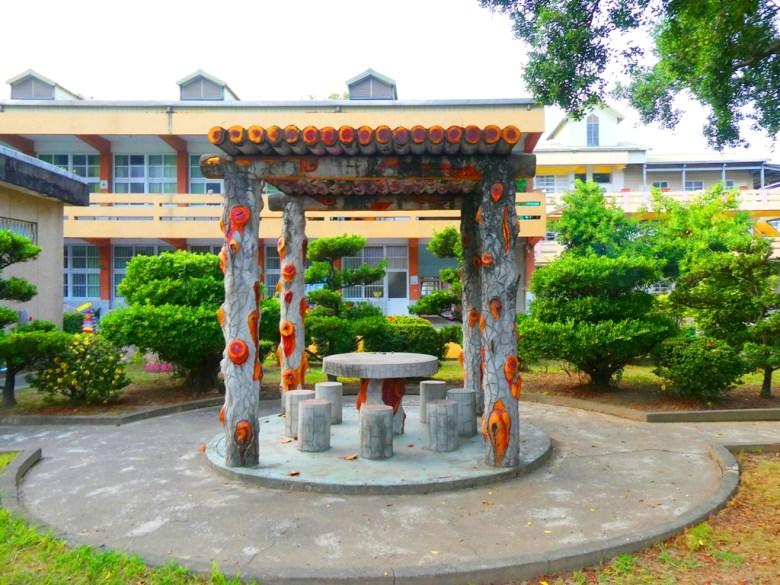 神社旁校內涼亭 | 鹽水國民小學內 | 鹽水區 | Yanshuei District | 台南市 | Tainan | 巡日旅行攝