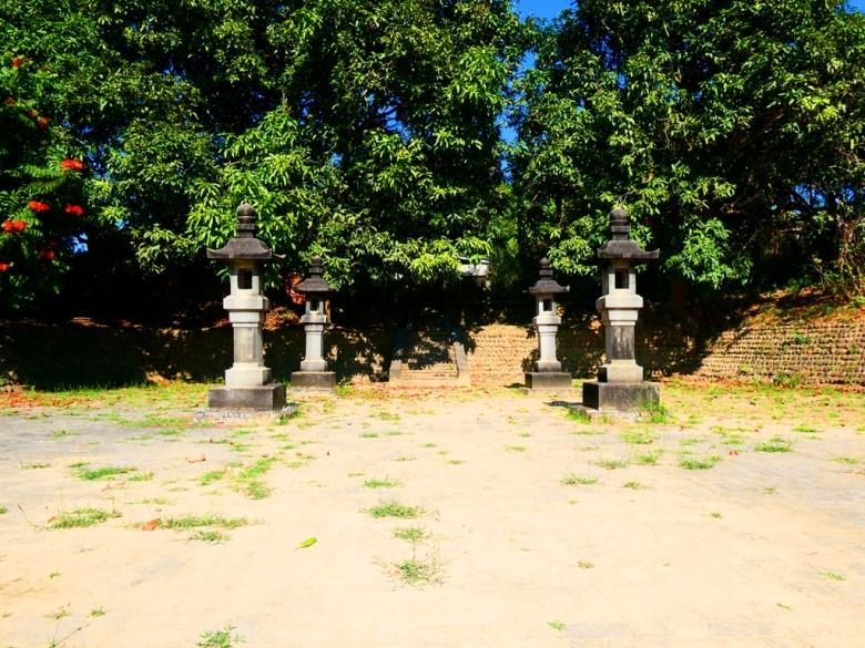 神社石階 | 石燈籠 | 大內國小校內神社遺跡 | 日本神社 | Danei District | Tainan | 和風巡禮 | 巡日旅行攝