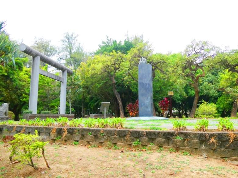朴子藝術公園裝置藝術 | 敬天、祈福 | 神社遺址 | 東石神社鳥居 | 狛犬 | 東石 | 朴子 | 嘉義 | 巡日旅行攝