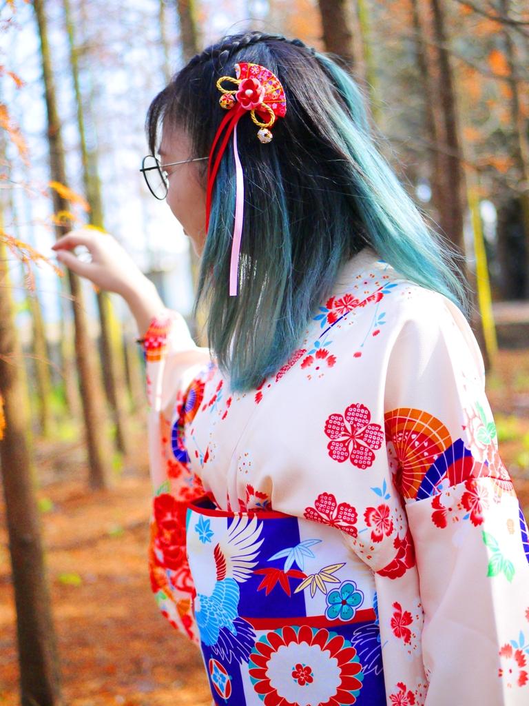 日本和服 | 小清新 | 空氣感 | 新鮮自然 | 森呼吸 | 大肚落羽松秘境 | 大肚 | 臺中 | RoundtripJp