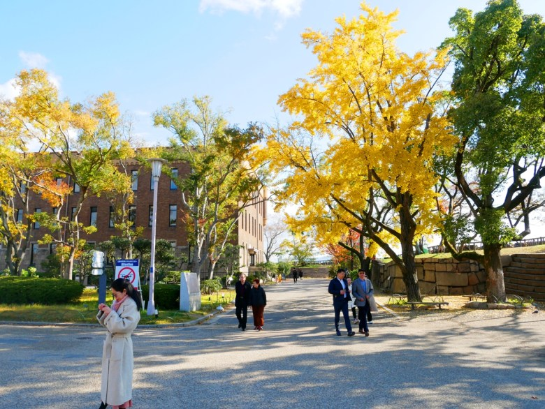 Colorful Japan | 大阪城銀杏樹 | 金黃之國 | 銀杏之國 | 日本的別稱 | RoundtripJp