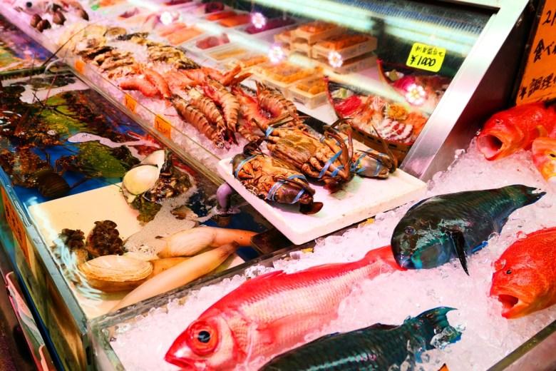 Colorful Japan | 沖繩牧志市場海鮮 | 海洋之國 | 海鮮之國 | 日本的別稱 | RoundtripJp