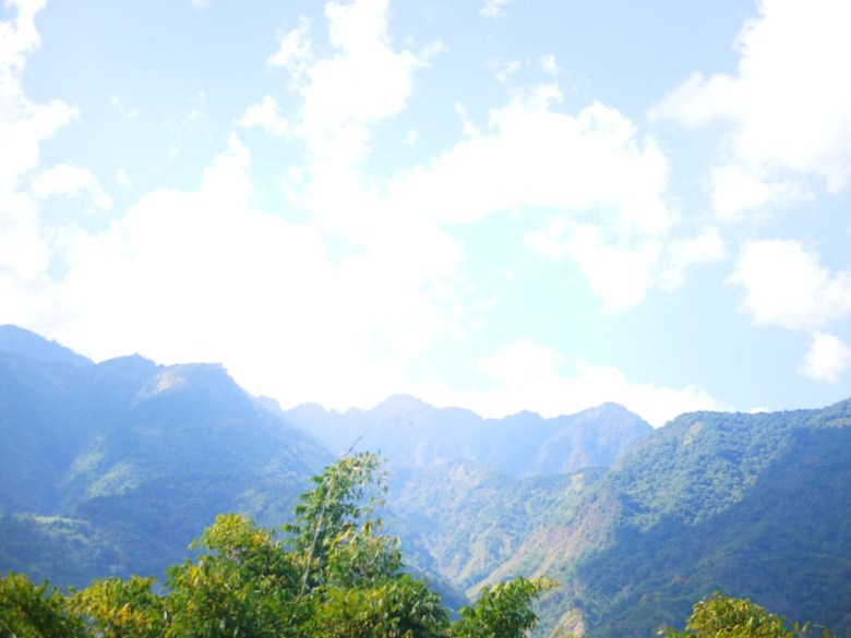 美麗的遠山 | 空氣清新涼爽 | 草坪頭玉山觀光茶園 | 信義 | 南投 | 一抹和風 | 巡日旅行攝
