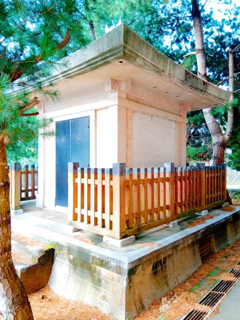 十分特別的日本建築 | 華麗神聖高雅 | 奉安殿 | 三義 | 苗栗 | 和風臺灣 | 巡日旅行攝