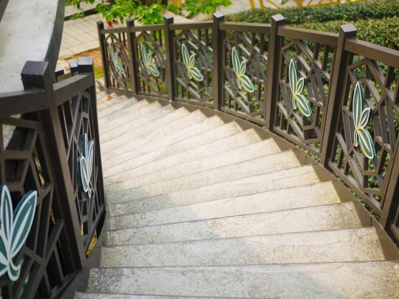 有著茶鄉意象的樓梯 | 高山茶園 | 南投八卦茶園 | 竹山 | 南投 | 巡日旅行攝