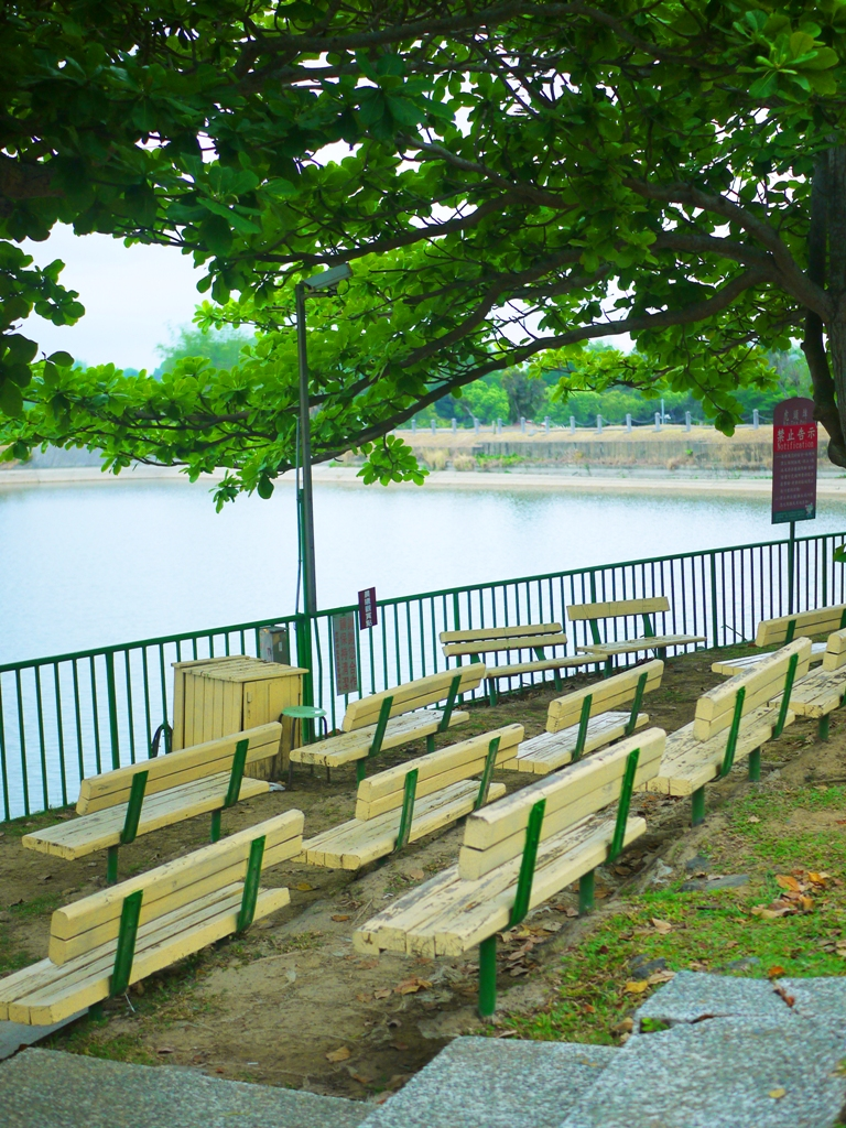 虎頭埤晨曦觀賞點 | 第一碼頭前 | 虎頭埤風景區內 | 新化 | 台南 | 巡日旅行攝