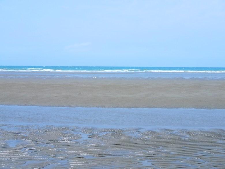 蔚藍海洋   沙灘   泥地   賞夕陽景點   苑港觀光漁港秘境海灘   ユエンリー   ミアオリー   巡日旅行攝