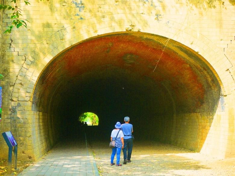 崎頂一號隧道 | 一號隧道全長130.78m | 台灣旅人 | チーディン | ジューナン | ミアオリー | 巡日旅行攝