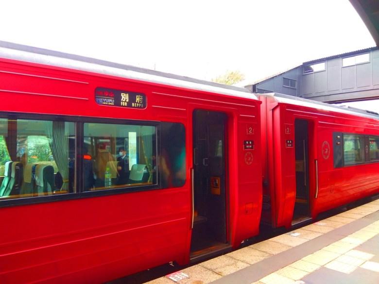 特急ゆふ   往別府方面   For Beppu   185YUFU Limited express   指定席   自由席   九州   巡日旅行攝