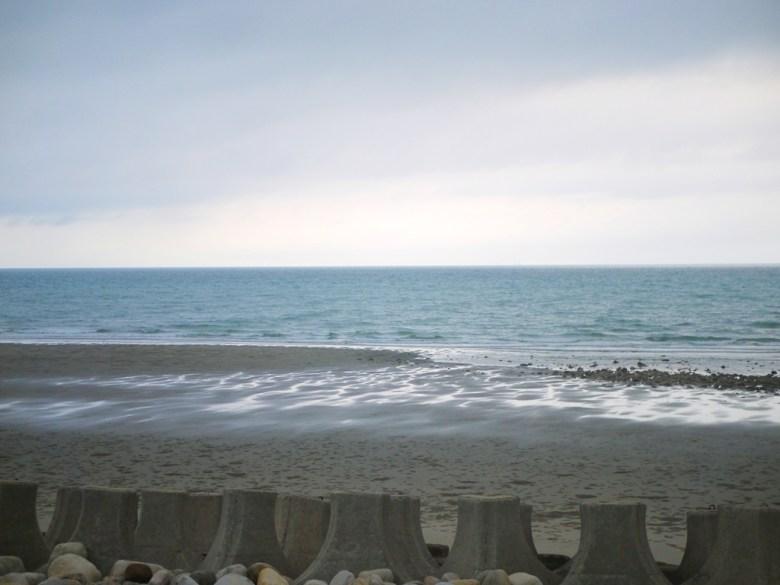 一望無際的大海 | 台灣海峽 | 西海岸 | 沙灘 | 觀海步道 | 新埔 | 苗栗 | シンプー | ミアオリー | 巡日旅行攝