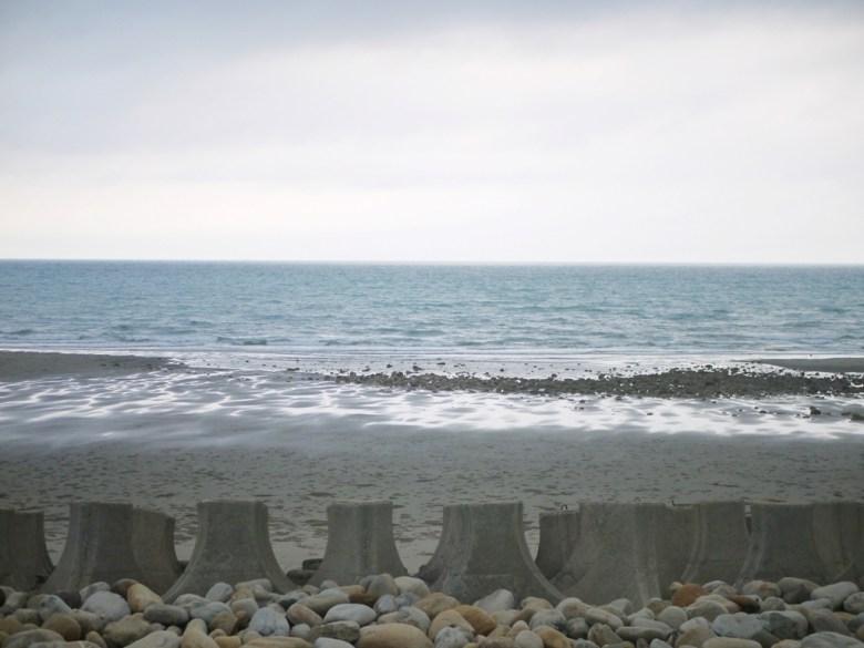 傍晚時分的大海 | 台灣海峽 | 西海岸 | 沙灘 | 觀海步道 | 新埔 | 苗栗 | シンプー | ミアオリー | 巡日旅行攝