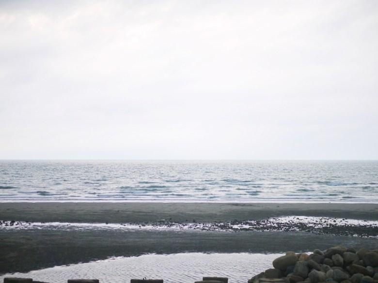 傍晚的西海岸 | 無邊無際的大海 | 海平線 | 沙灘 | 新埔 | 苗栗 | シンプー | ミアオリー | 巡日旅行攝