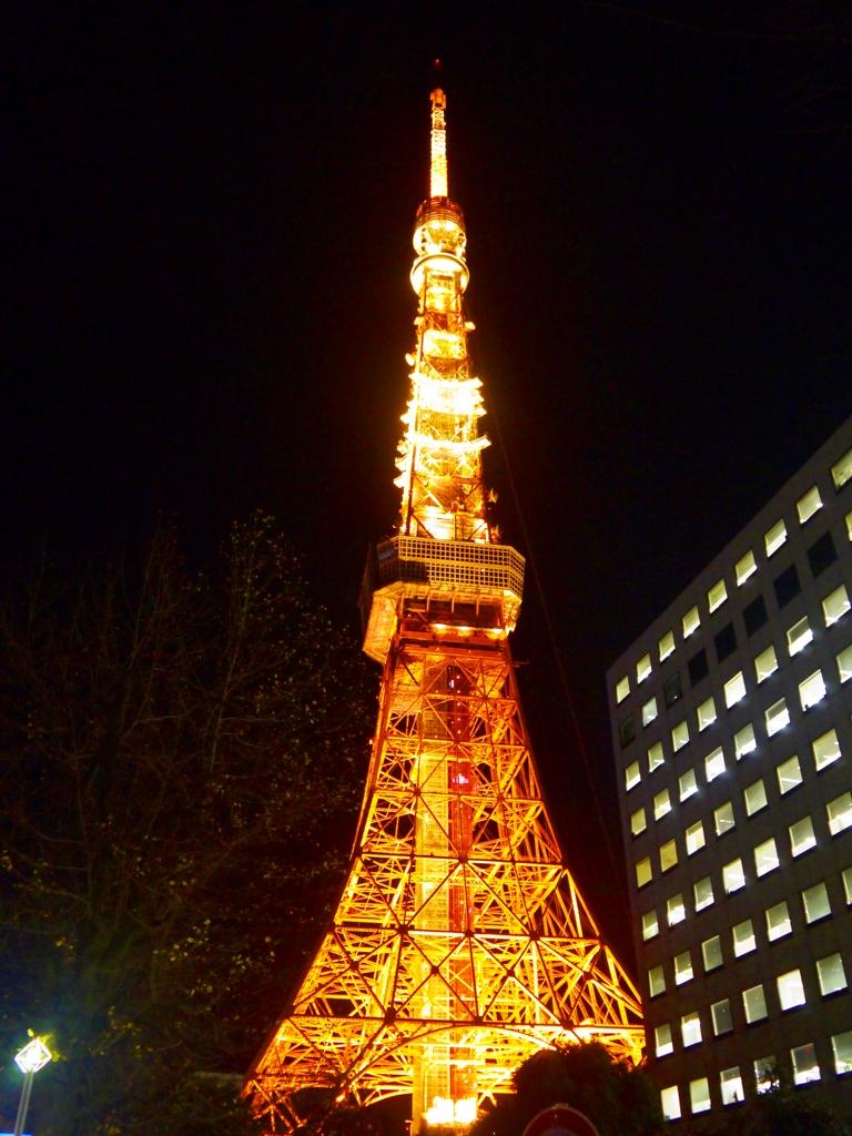 東京鐵塔   日本   東京著名地標   晚上的東京鐵塔   約會勝地   日本   Japan   巡日旅行攝   RoundtripJp