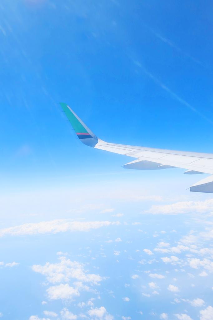飛機   天空   白雲   藍海   Airlines   日本   Japan   巡日旅行攝   RoundtripJp