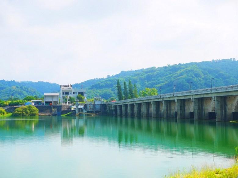 石岡水壩後方   碧綠的水色   美麗的風景   シーガン   タイジョン   Shigang   Taichung   Wafu Taiwan   巡日旅行攝   RoundtripJp