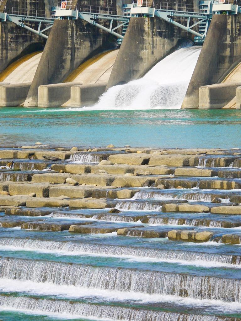 傾瀉而下的水流   清澈的水流   石岡水壩   シーガン   タイジョン   Shigang   Taichung   Wafu Taiwan   巡日旅行攝   RoundtripJp