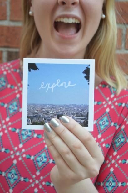 Sacre Coeur Basilica Paris Travel Print