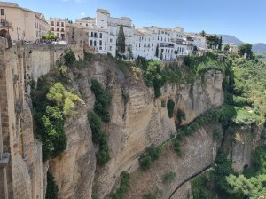 virtual holiday destination spain ronda town on rocks