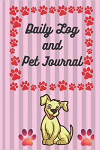 Dog Planner 2021. Pet Journal Diary