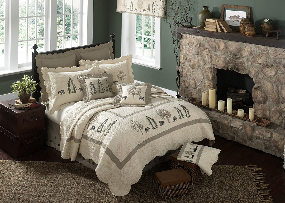 Bear Creek Bedding Set - Rustin Home Decor