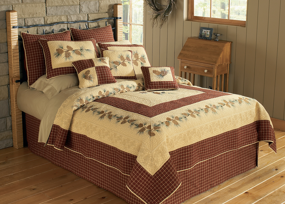 Rustin Home Decor - Donna Sharp Pine Lodge Bedding Set
