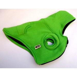 Casaco de malha verde 08 para cão