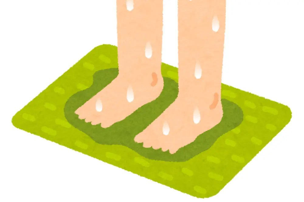 珪藻土バスマット アスベスト
