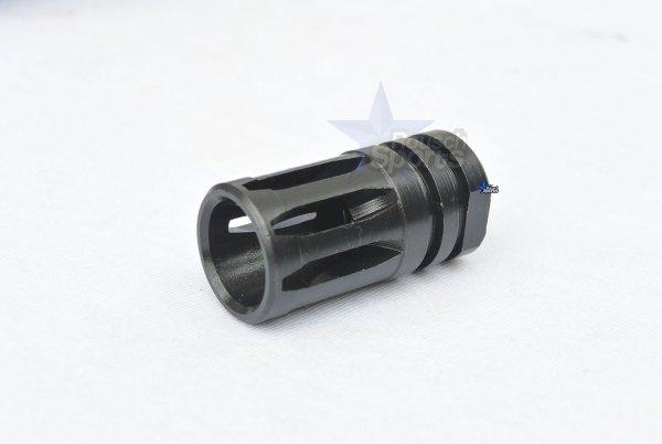 """A2 Flash Hider AR15 AR10 Flash Hider 1/2""""-28 5/8""""-24 300 Blackout"""