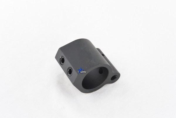 Low Profile Micro Gas Block Aluminum .750