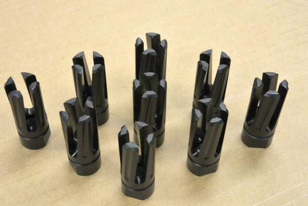 Rampage 4 Prong Flash Hider Ar15 M4 M16 Rousch Sports Austin Texas Best Wholesale discount Prices