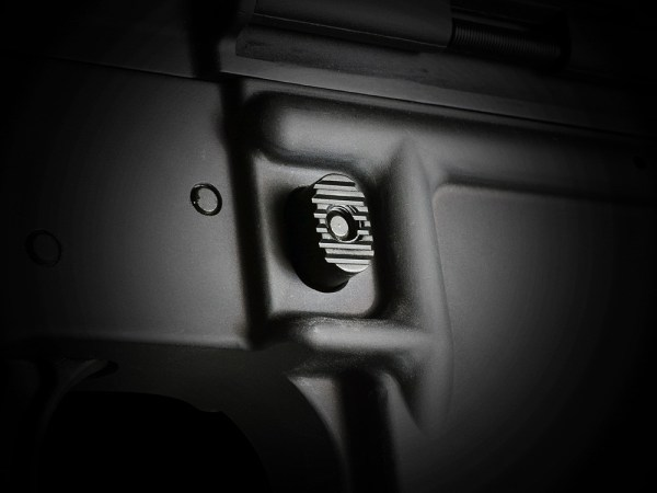 Enhanced Magazine Catch Strike Industries M16 M4 AR15 Austin Texas Best Discount Wholesale Price AR Parts and Accessories Rifle Pistol Handgun Long Gun weapon