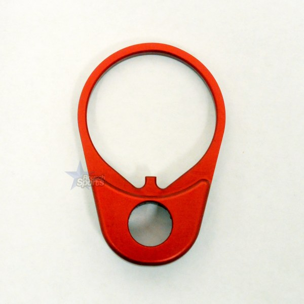 QD Quick Detach End Sling PLATE Swivel Mount ANODIZED RED QD EP By Timber Creek Outdoors .223 5.56 .308 RED AR 15 M4 M16 Best Discount Wholesale AR Parts and Accessories Austin Texas