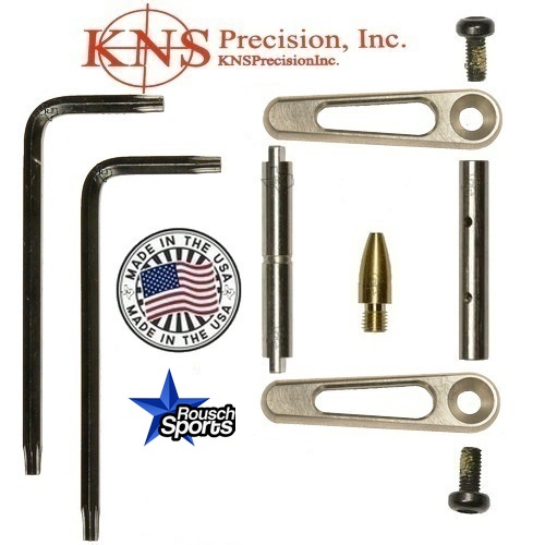 KNS Pins Anti-Walk Pins Non-Rotating Gen JJ SILVER Side Plates .154 Enhanced.223 5.56 .308 AR 15 M4 M16 Best Discount Wholesale AR Parts and Accessories Austin Texas 1 .223 5.56 .308 AR 15 M4 M16 Best Discount Wholesale AR Parts and Accessories Austin Texas Stainless Steel