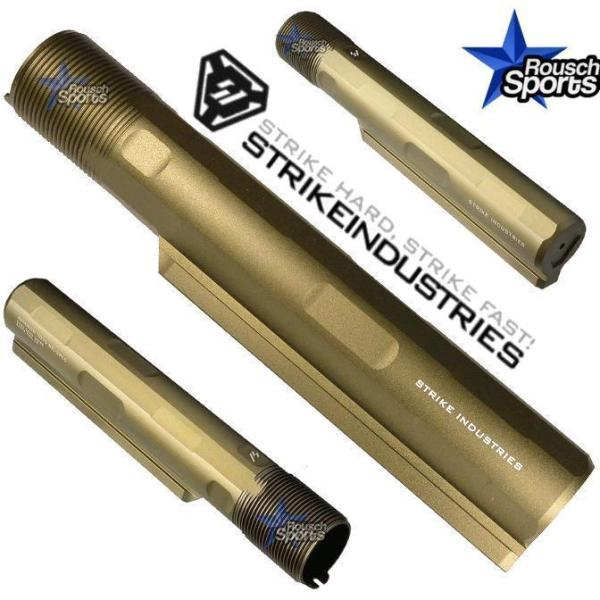 Strike Industries Advanced Receiver Extension Buffer Tube FDE Anodize AR 15 10 M 4 16 Mil-Spec Austin Texas USA
