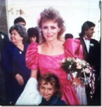 Ashley Gibson poses for a photo with her mom, Debbie Gibson. Gibson's mother, Debbie committed suicide on Feb. 24, 1998.