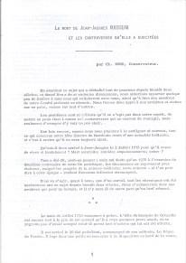 La mort de Jean Jacques Rousseau et les contreveses qu'elle a suscitée-1