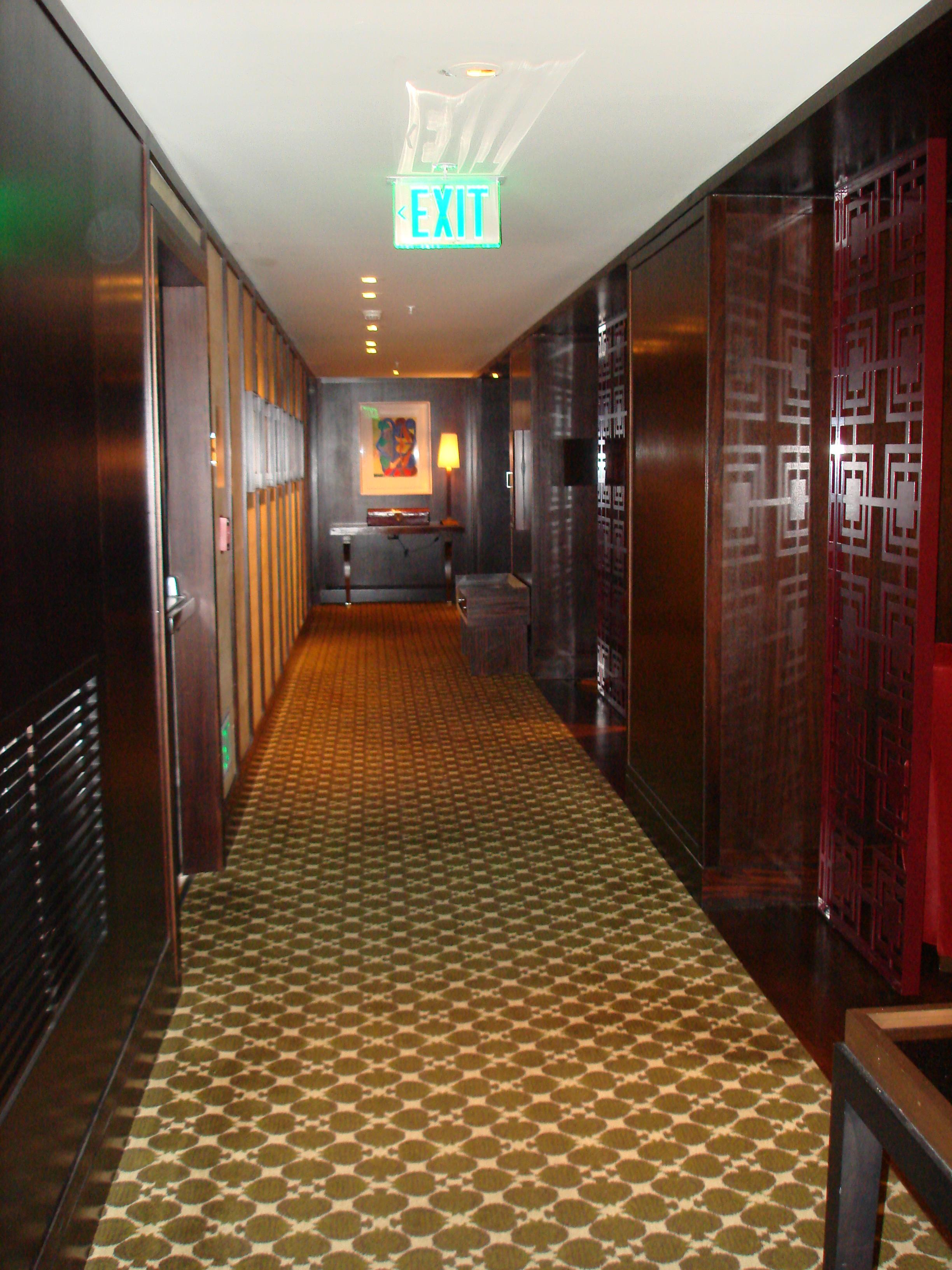 5th Floor Hallway at Hotel Palomar