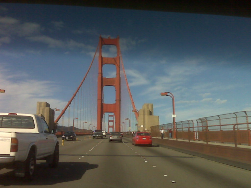Crossing the Golden Gate