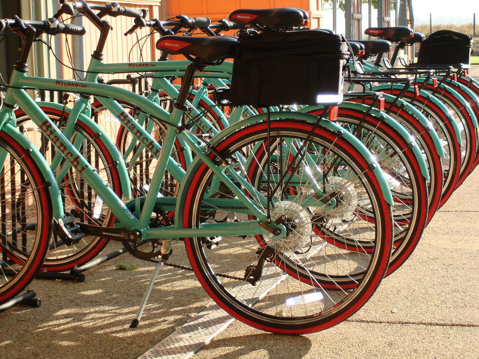 Bianchi Complimentary bikes