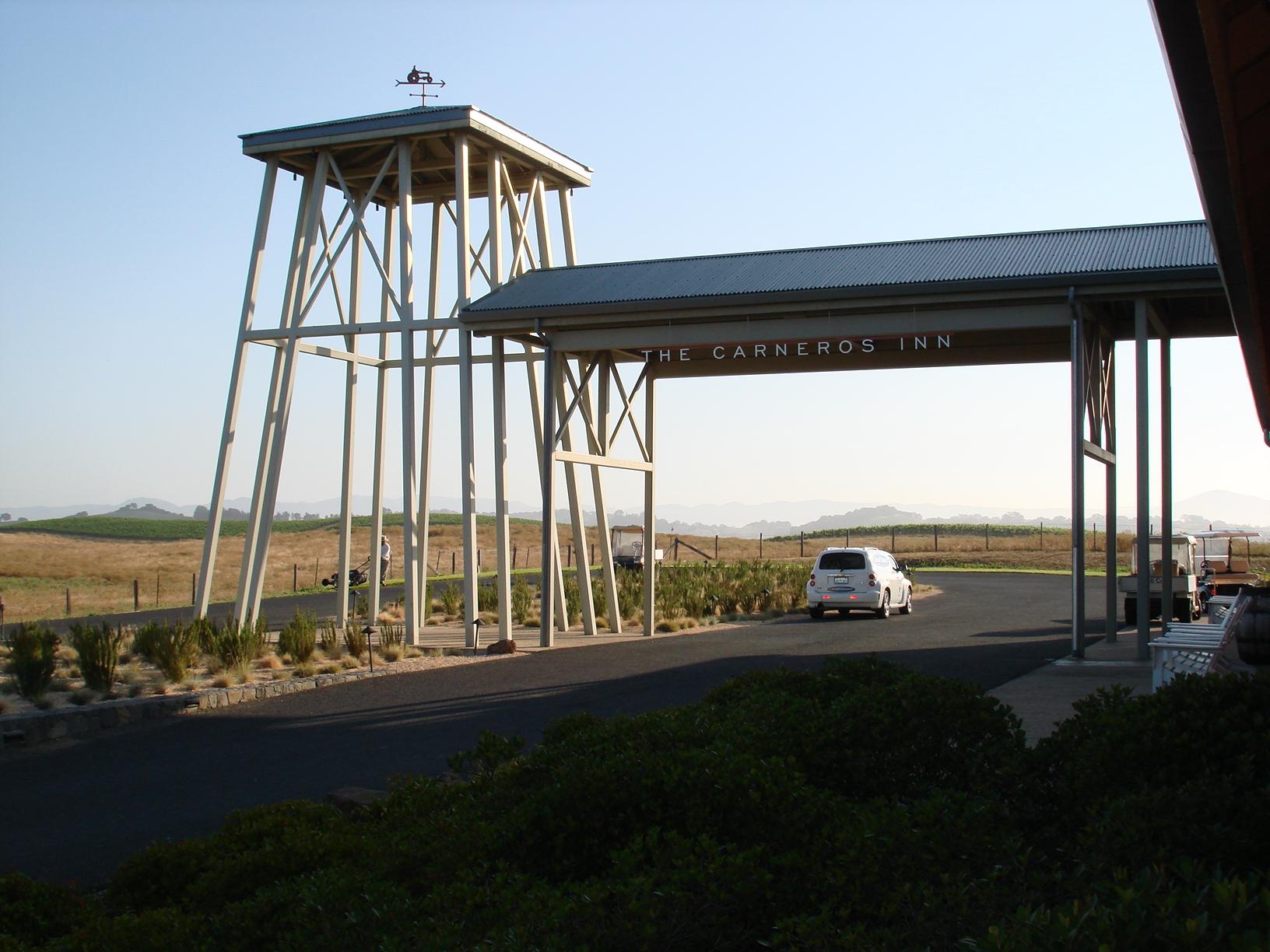 The Hilltop Reception Area