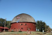 The Arcadia Round Barn, near Oklahoma City, OK