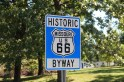 Route 66 shield. Missouri