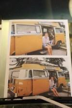 Pontiac Route 66 Museum. Bob Waldmire's VW Van. Pontiac, IL