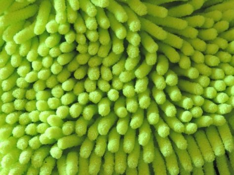 Chenille Car Wash Mitt Noodle