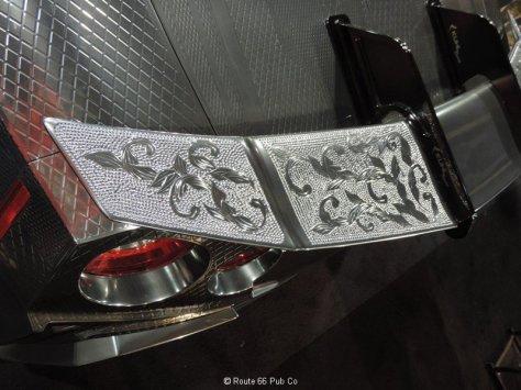 Silver Nissan GTR close up