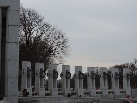 World War Two Memorial States