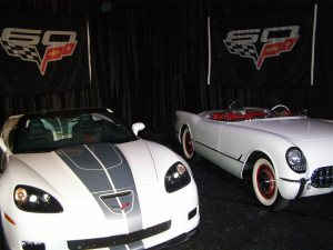 Unveiling of the 60th Anniversary Corvette at Barrett-Jackson Auction