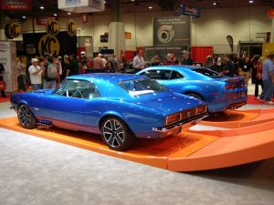 Blue Hot Wheels